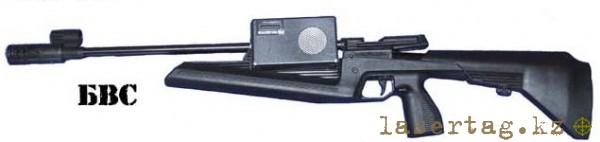 биатлонная винтовка световая