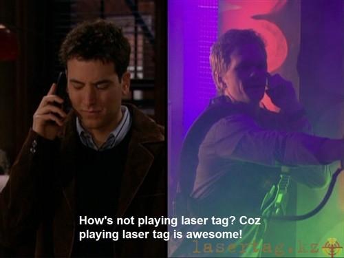 Как можно не играть в лазертаг? Ведь лазертаг - это круто!
